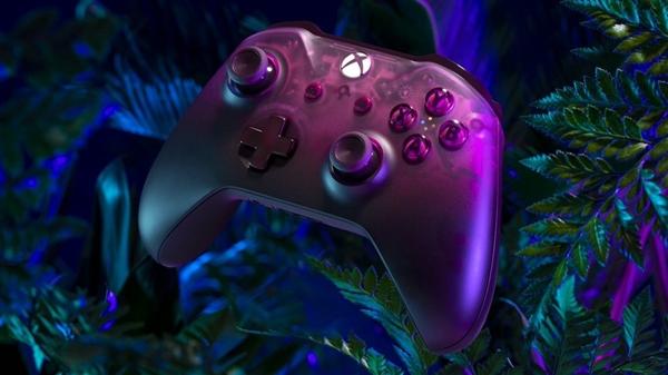 Xbox半透明手柄出新:洋红色登场 此前仅有白色和黑色