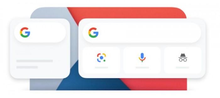 谷歌现为iOS14引入搜索桌面小部件可执行快速搜索