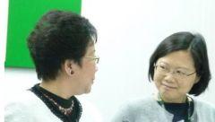 """""""紧咬""""蔡英文?吕秀莲称自己没有博士学位也不会吹牛"""