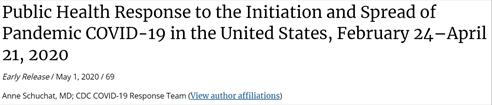 ...美国丧失全球抗疫领导地位;美疾控中心承认多项失误致美疫情恶化