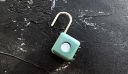 优点智能指纹挂锁Kitty体验:指纹开锁很方便