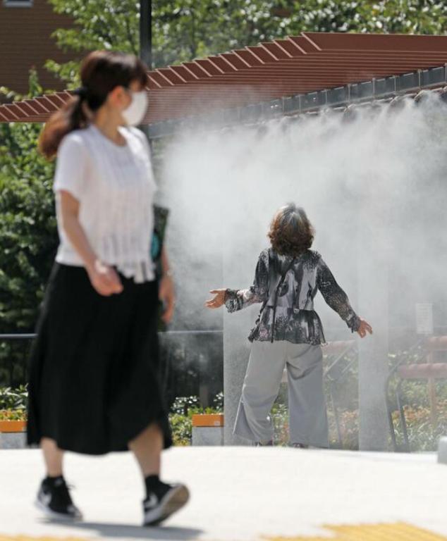 下载欧博真人客户端:日本局地超40度高温 东京本月100余人中暑殒命 第3张