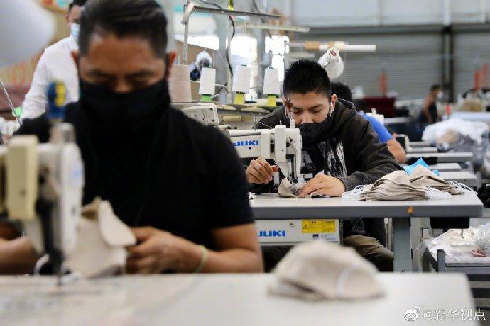 洛杉磯圍裙工廠變口罩廠