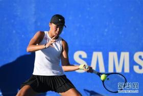 墨西哥网球公开赛:王曦雨晋级半决赛