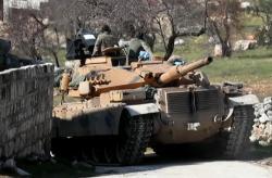 土耳其国防部:土军在叙利亚遭到空袭致2死5伤