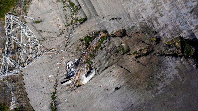usdt支付(caibao.it):美国阿雷西博天文台一夜之间坍毁 数月前设计拆除