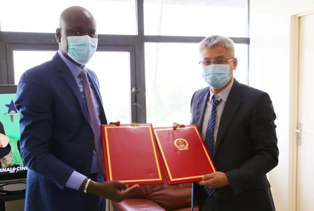 中塞两国签署确立对口医院互助机制意向书