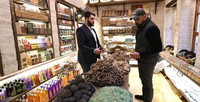 """用橄榄皂""""敲""""开中国市场大门——叙利亚企业的生意经"""