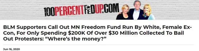 """欧博allbet注册:""""3500万美元只投入了20万""""?美网友诘责""""辅助黑人群体慈善组织"""":善款都去哪了? 第11张"""