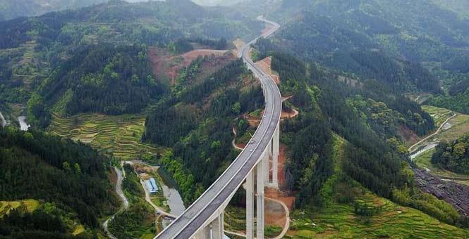 贵州剑榕高速公路建设有序推进
