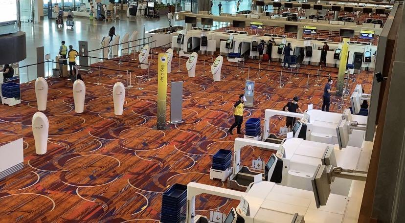 环球ug官网开户网址:受新冠肺炎疫情影响 新加坡樟宜机场第5航站楼建设将暂缓2年 第3张