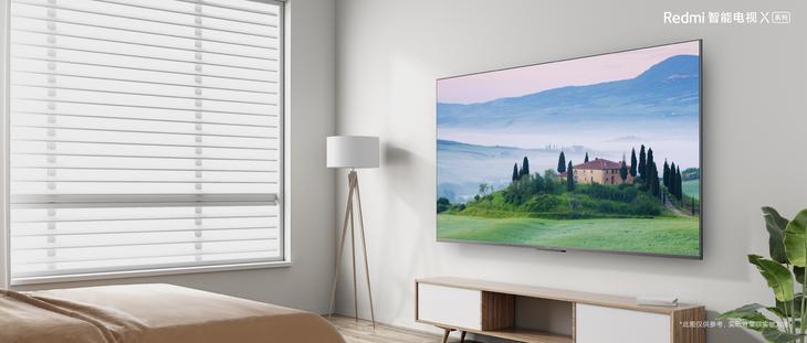 金属边框全面屏 Redmi智能电视X系列发布