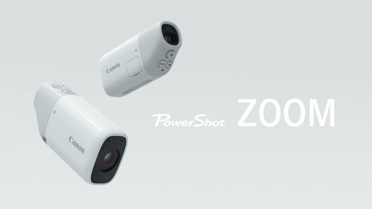 佳能在日本众筹网站上发布迷你望远镜相机