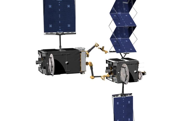 私人公司经营 DARPA与诺斯罗普·格鲁曼合作制造机器人服务卫星