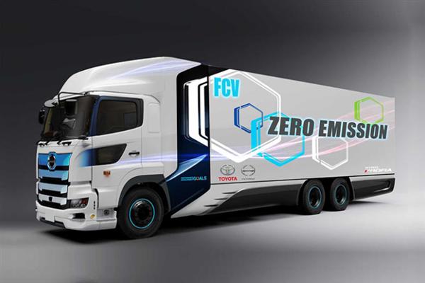 续航600公里 丰田/日野共同开发重型氢燃料卡车