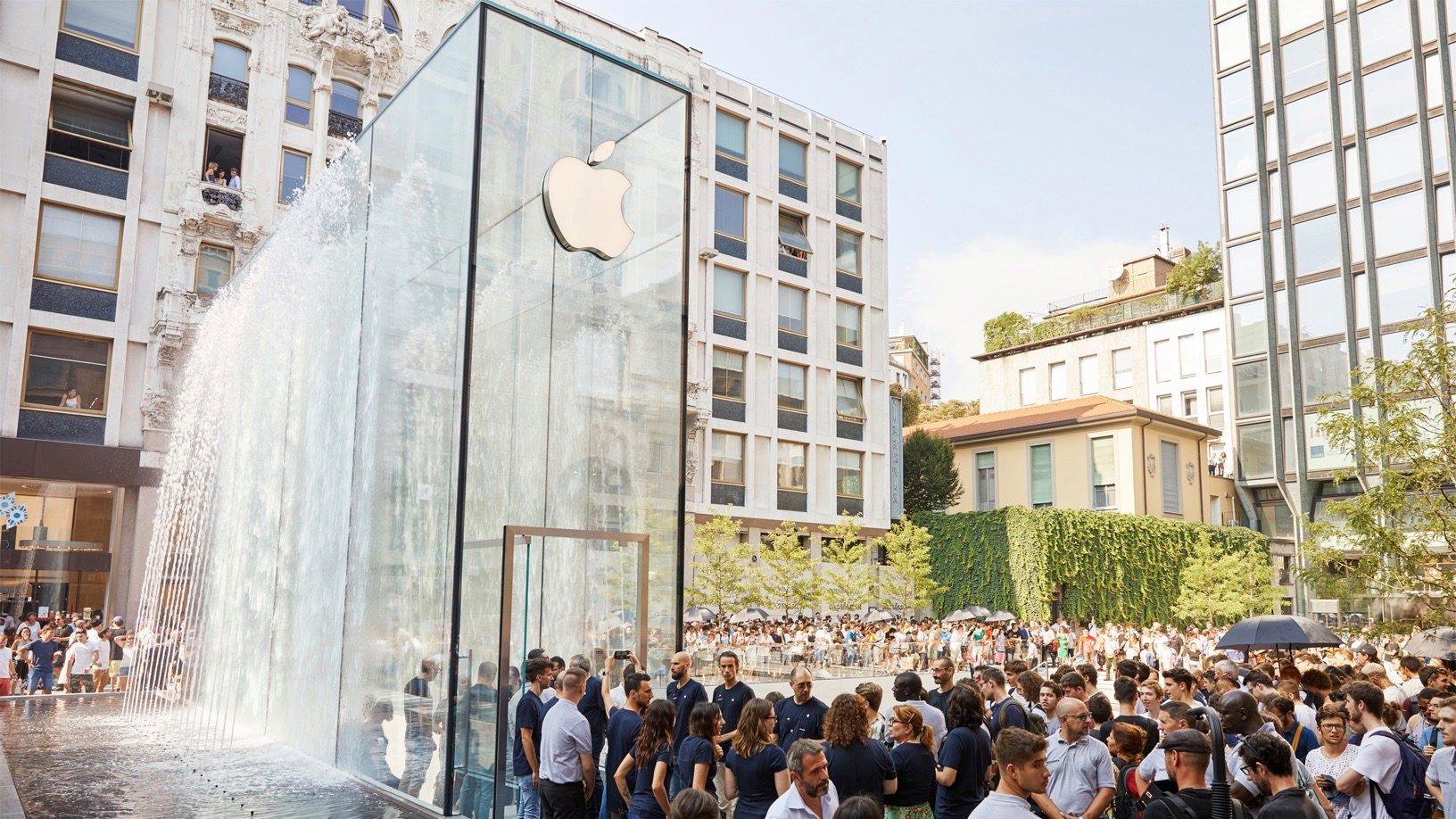 受疫情影响,苹果公司将无限期关闭意大利的所有苹果线下门店