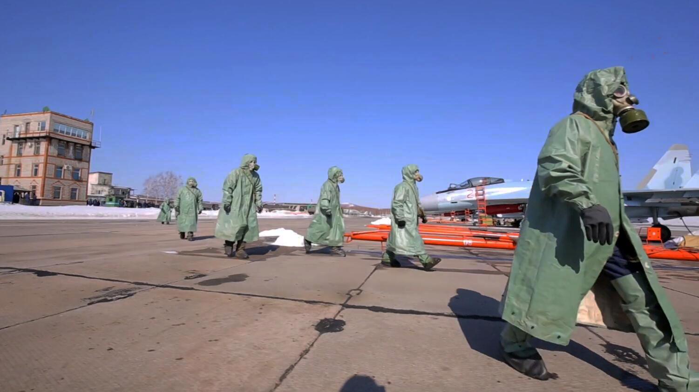 核武器袭击防护教案_俄军称其核生化防护部队已做好在生物感染条件下作战准备