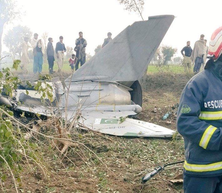 坦桑尼亚歼教-7P战斗机坠毁两名飞行员丧生