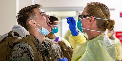 美军部队中累计已有3.2万人感染新冠另有3万军人被隔离