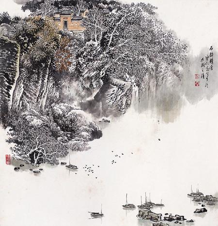丹青里的吴中胜景——曹仁容和他的山水画