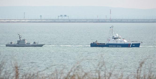 俄罗斯开始向乌克兰转交在刻赤海峡冲突中被扣船只