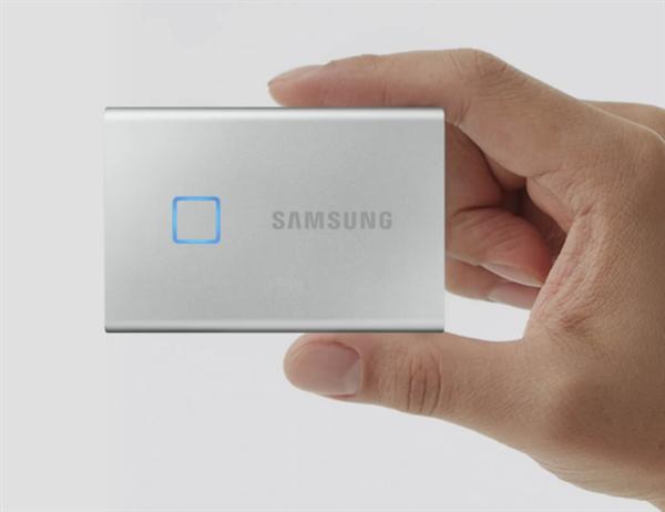 小米有品上架三星T7Touch移动SSD:支持指纹识别 让用户使用更方便