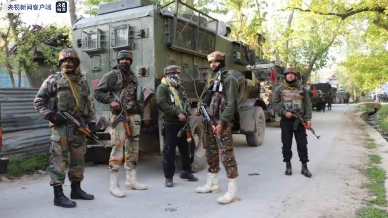印度安全部队与武装份子交火 致4人死亡
