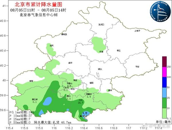 北京10区发布雷电预警降雨或影响晚高峰