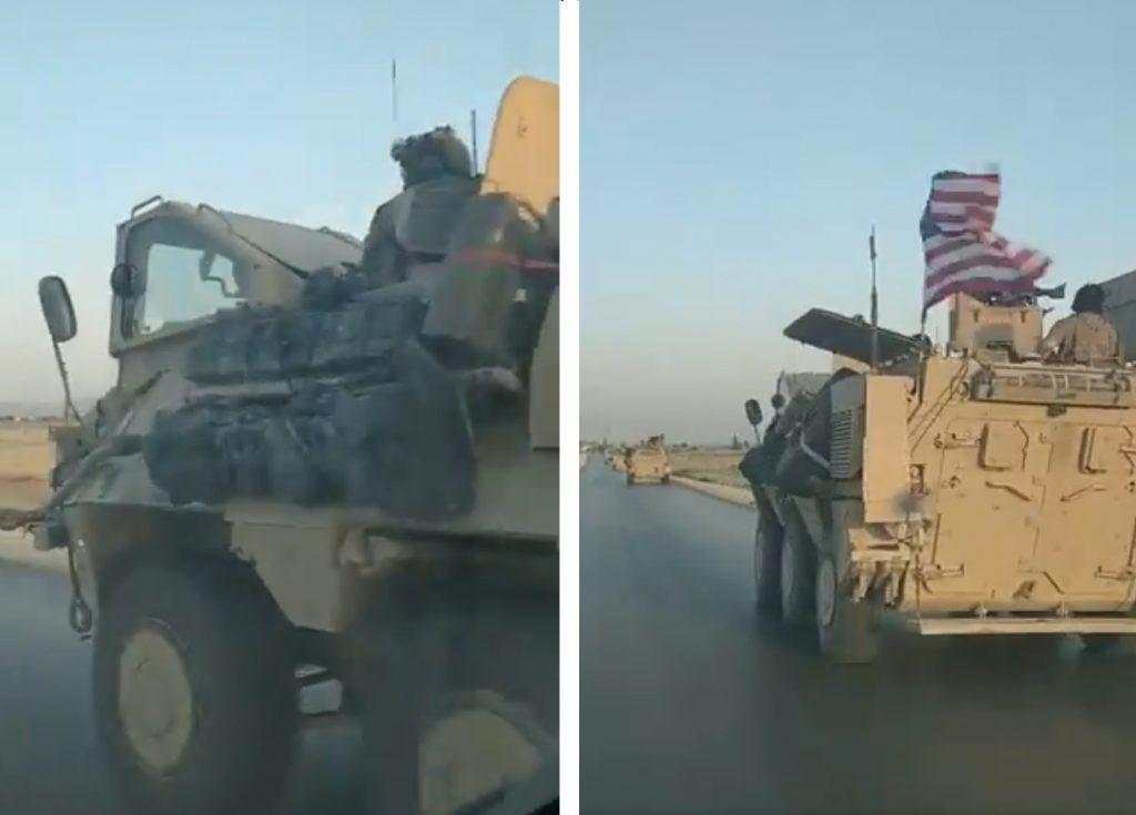 美军超罕见特种军车现身叙北部 美特战司令部仅装备21辆