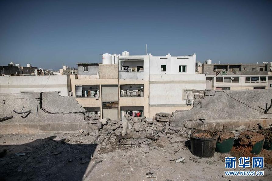 利比亚首都机场因火箭弹袭击关闭