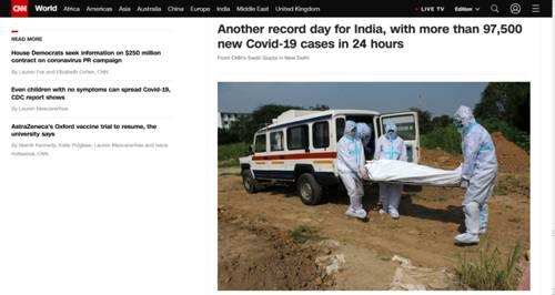 allbet登陆官网:又创纪录!印度昨日讲述新增超9.7万新冠确诊病例
