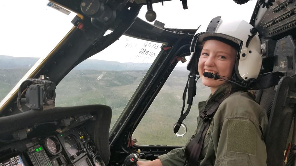 环球ug:山火肆虐!美国19岁少女开直升机灭火 开学当天奋战到破晓 第1张