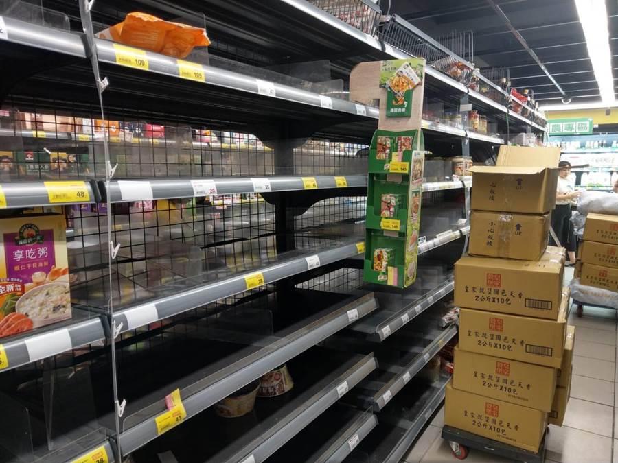 台湾抢购潮已过?网友去卖场看很崩溃!