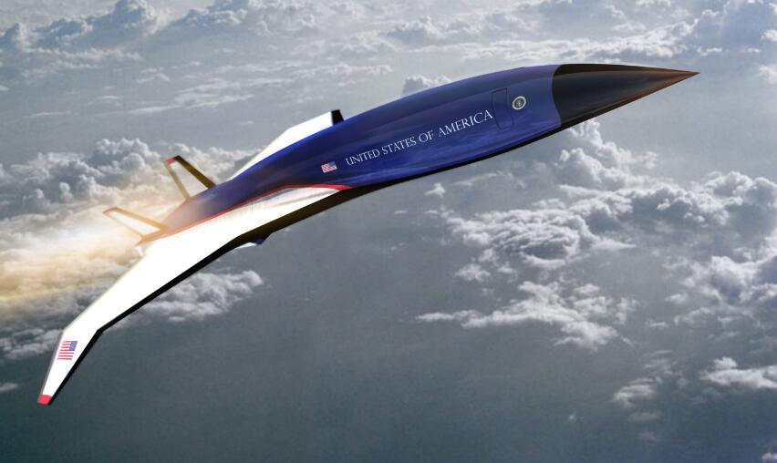 美国空军着手打造高超音速飞机从纽约到伦敦只要1个半小时