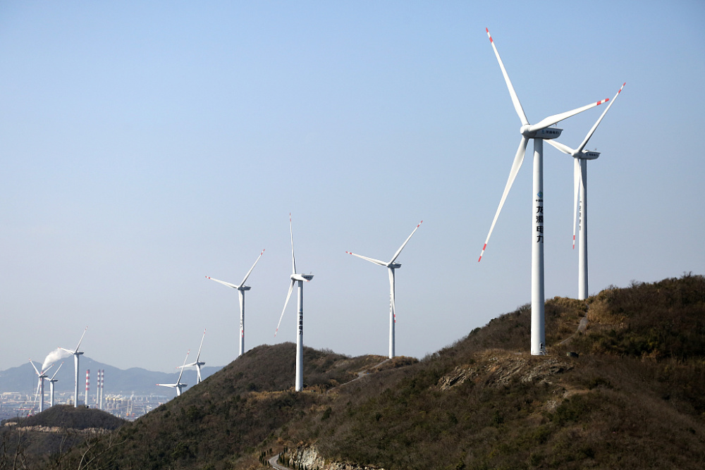 浙江舟山:海风吹来新能源