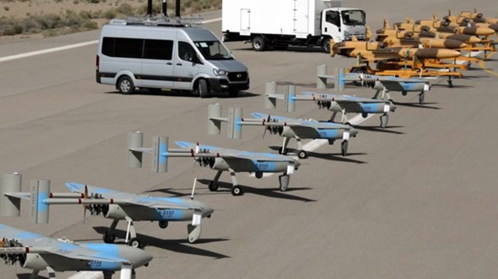画面高清!伊朗用国产无人机拍下美军航母(图) 第6张