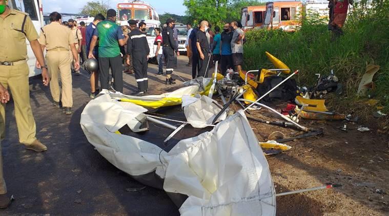 快讯!印度水师一滑翔机坠毁,两名水师军官殒命 第2张
