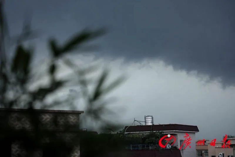 冲上热搜!天空大片震撼上演!广东多地狂风暴雨来袭!划重点:明天雷雨还没完