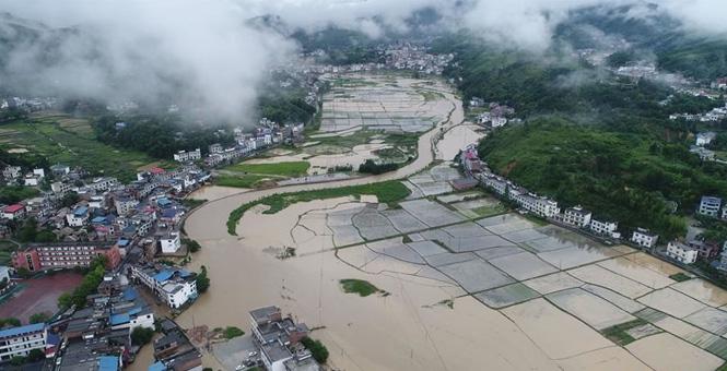 江西遭遇强降雨 紧急启动救灾应急响应