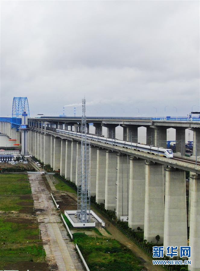 江苏南通:通沪铁路赵甸至黄渡段开始试运行