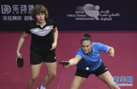 卡塔尔乒乓球公开赛:丁宁/陈梦女双晋级
