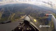 第一视角:空军歼10C战机发射火箭弹对地打击