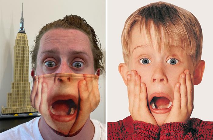《小鬼当家》中的小鬼扮演者麦考利·卡尔金引推特网友热议,只因发了张照片 第5张