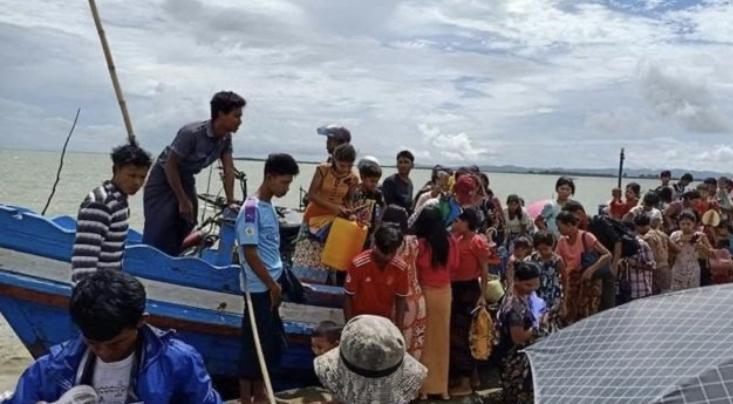 allbet:缅甸若开邦军事冲突致3000多人逃离家园
