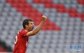 德甲:拜仁慕尼黑胜法兰克福