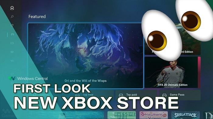 MicrosoftStore上出现了一款新的Xbox商店应用