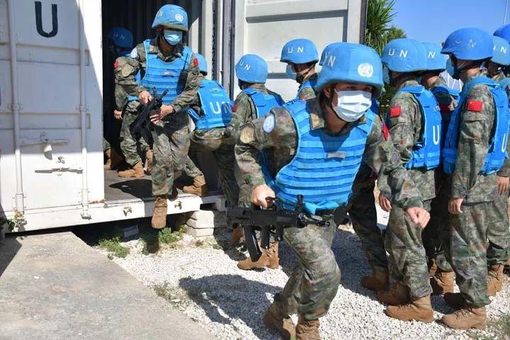 直面挑战!两支维和部队高标准执行各项任务