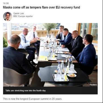 """allbet gaming下载:20年最长欧盟峰会还没完:马克龙砸桌就骂、多国领导人""""情绪发作""""、口罩也不戴了…… 第1张"""