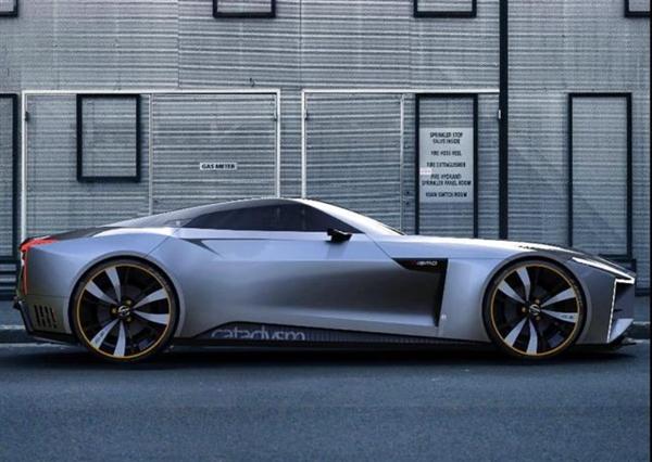 日产全新一代370Z效果图曝光:GT轿跑设计风格,风格大变外观犀利
