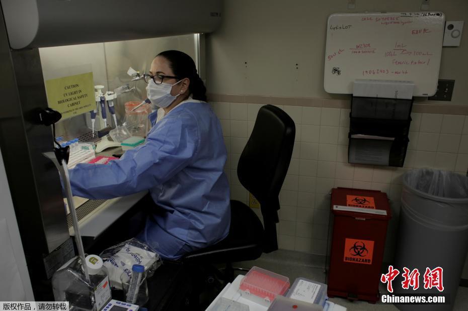 探访美国麦迪根陆军医疗中心的核酸检测实验室
